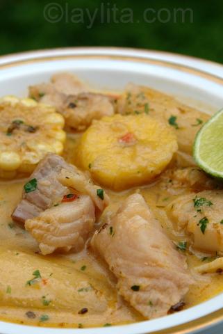 Sopa de peixe receita