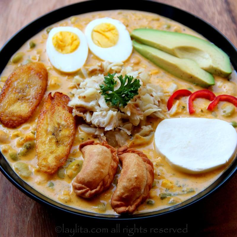 Fanesca ou sopa de Páscoa equatoriana