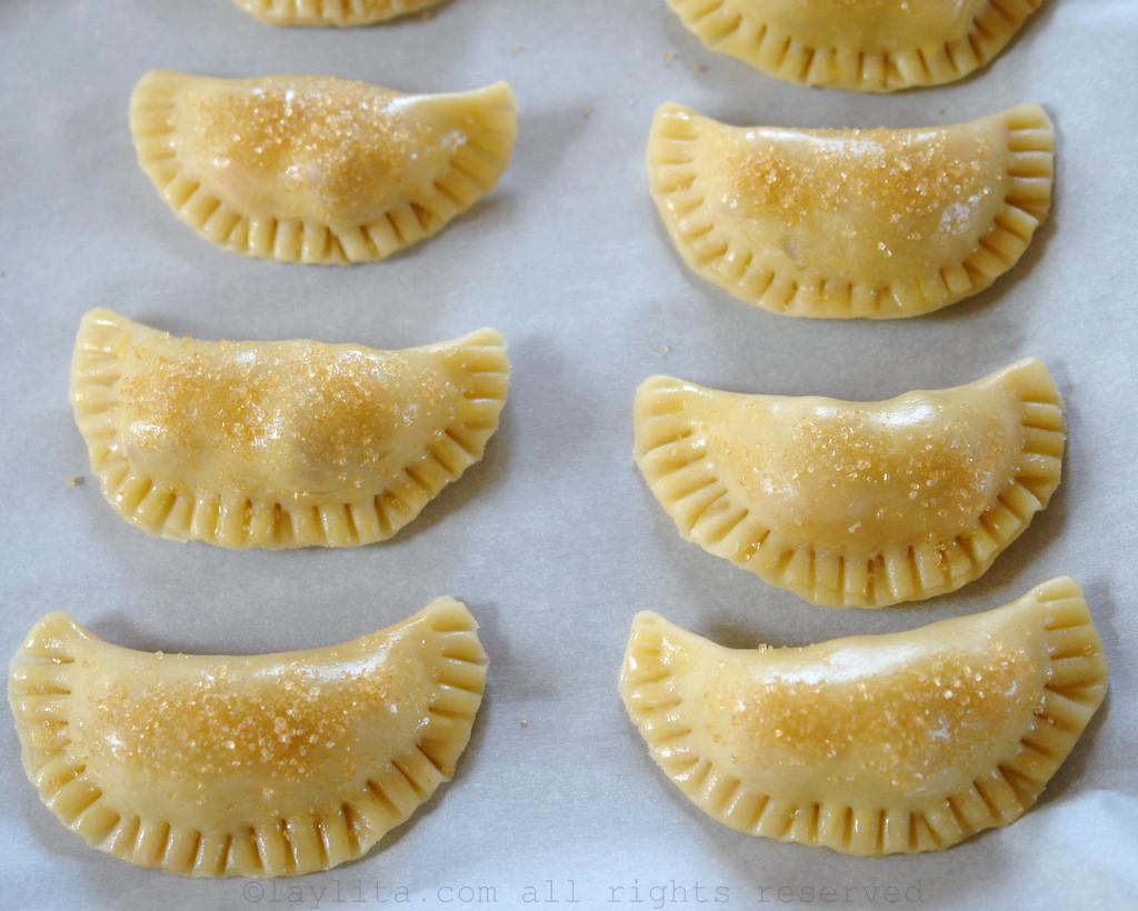 Massa doce básica para empanadas