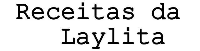 Receitas da Laylita logo
