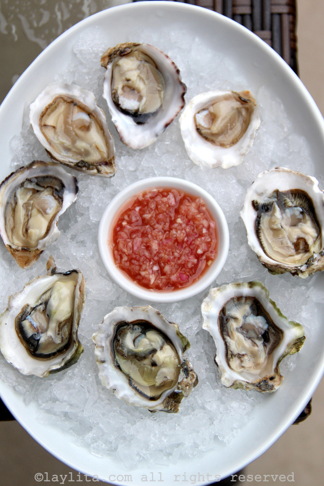 Vinagrete francês de chalotas para acompanhar ostras