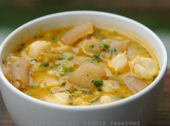 Sopa de mocotó