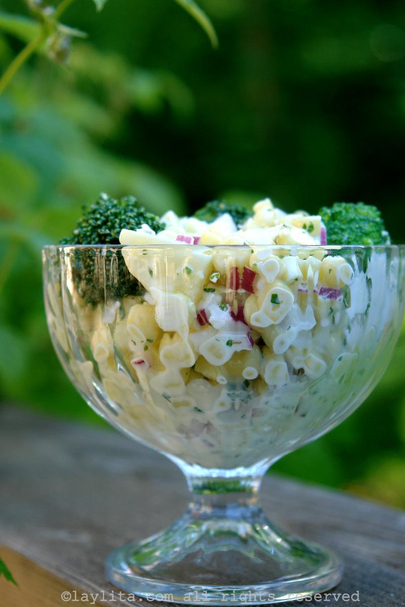 Salada Picante de Milho com Batatas e Brócoli