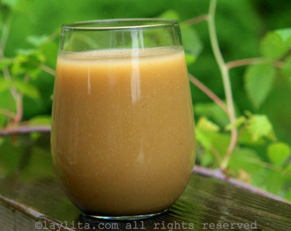 Colada de avena con naranjilla: Bebida equatoriana de aveia