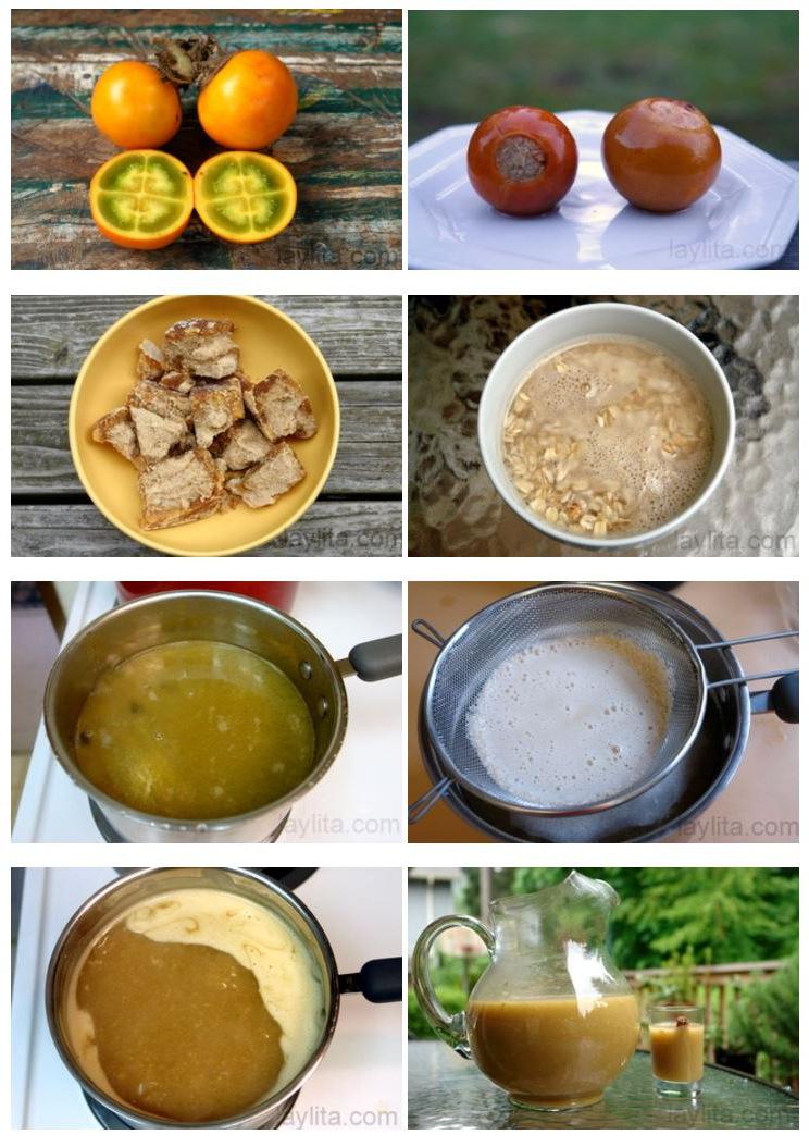 Modo de preparar colada, bebida equatoriana de aveia
