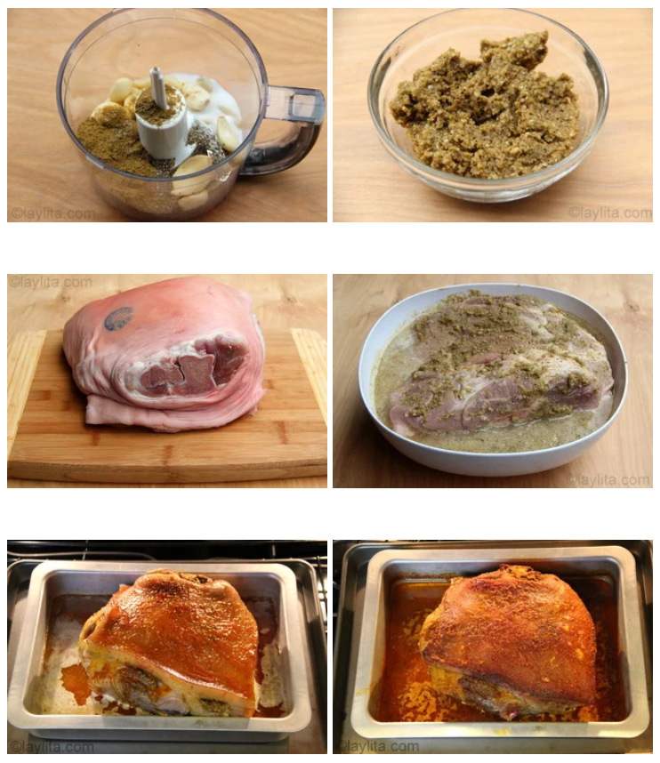 Marinada para a carne de porco