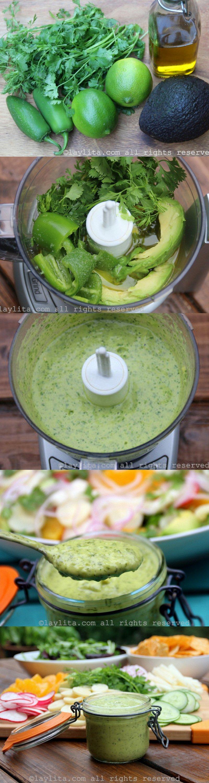 Como fazer molho de abacate para saladas