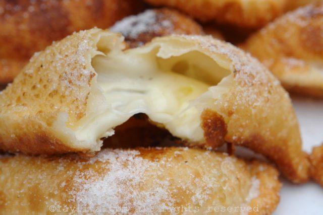 Pastel de queijo ou empanadas fritas de queijo