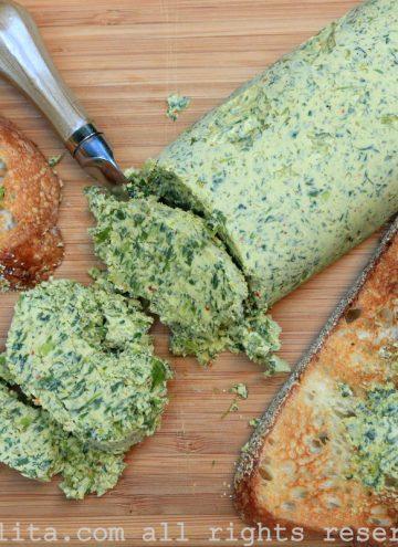 Manteiga de chimichurri