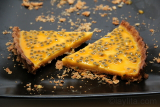 12- Tarta dulce de maracuya