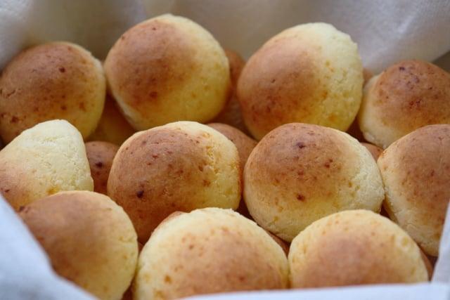 Pan de yuca o pan de queso