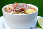 Recipe for Ecuadorian encebollado fish soup