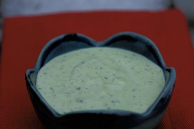 Alioli o mayonesa de cilantro