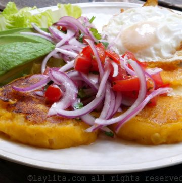 Llapingachos o yapingachos ecuatorianos