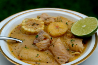 Biche de pescado ecuatoriano
