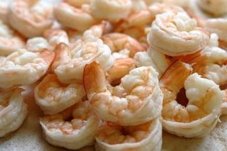 receta de camarones