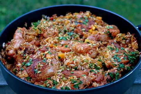 arroz con pollo ecuador