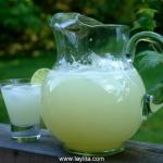 Limonada {Receta fácil y rápida en la licuadora}