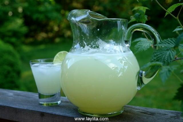 Receta para preparar limonada casera