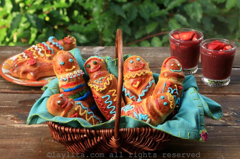 Receta de las figuras de pan o guaguas de pan ecuatorianas