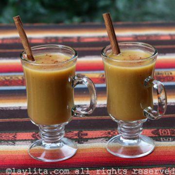 Colada de avena - receta ecuatoriana