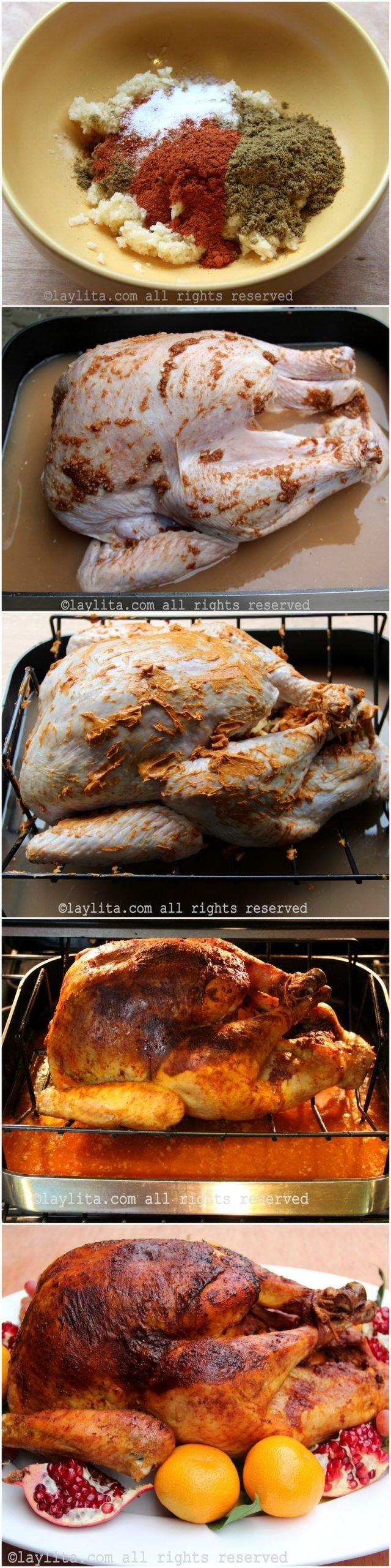 Como preparar el pavo asado para Nochebuena o Navidad