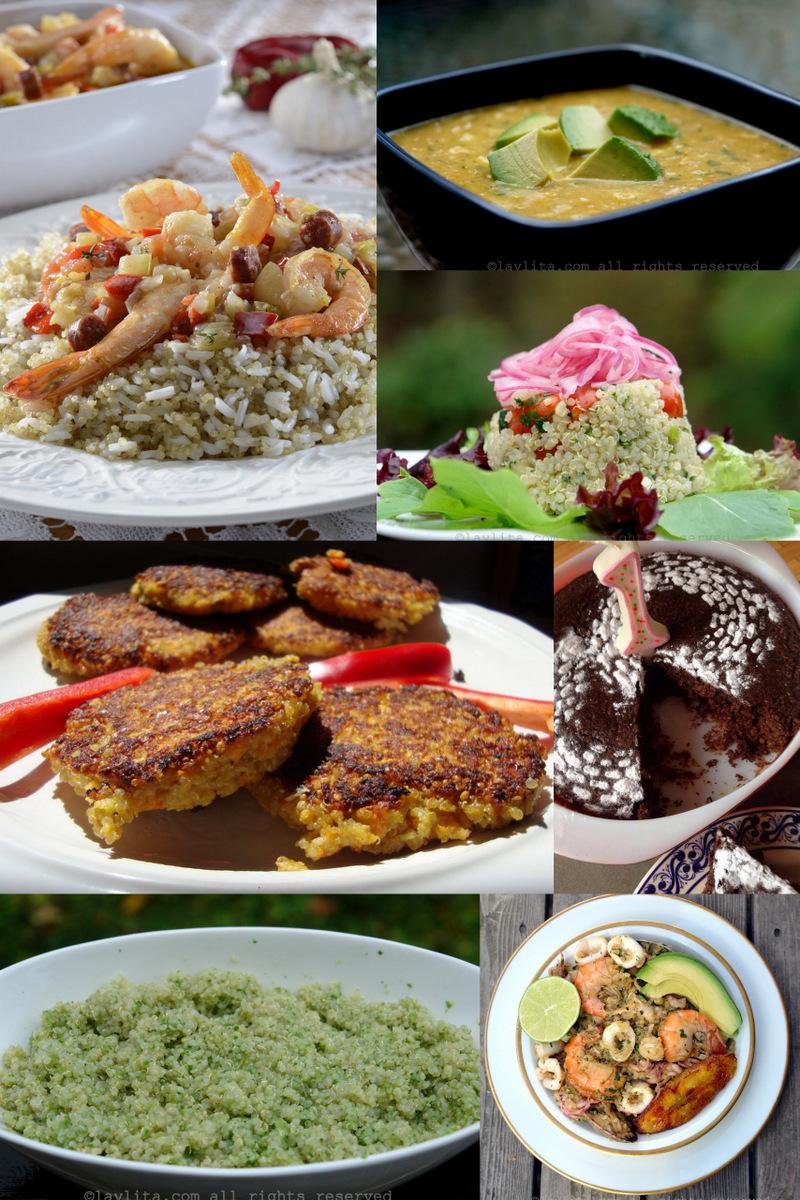 Recetas con quinua o quinoa