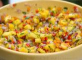 Salsa picante de mango