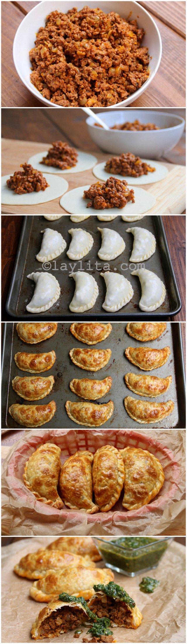 recetas para hacer empanadas de carne