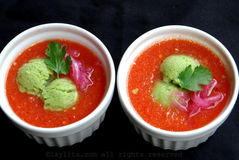 Receta del gazpacho sin pan