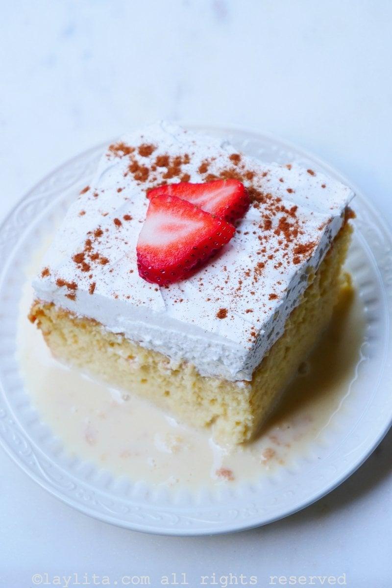 Receta del pastel tres leches