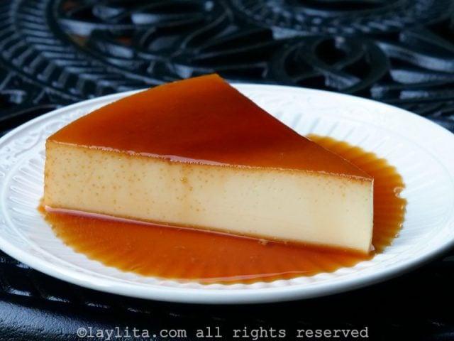 Receta del flan o quesillo venezolano