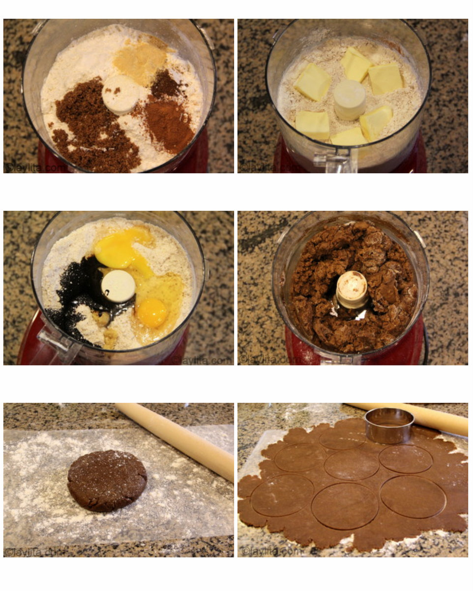 Masa de jengibre para empanadas tipo gingerbread