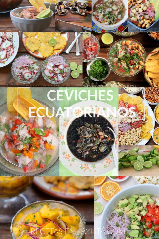 Ceviches ecuatorianos