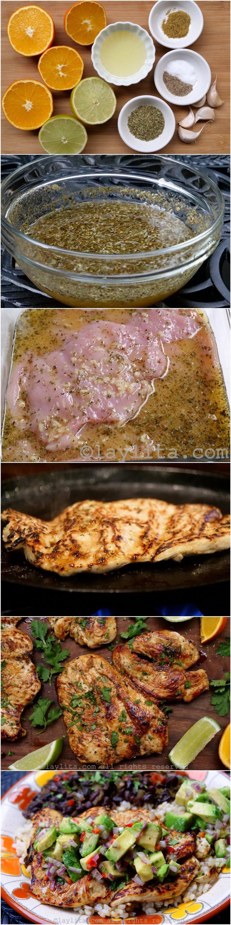 Como preparar pechugas de pollo a la plancha