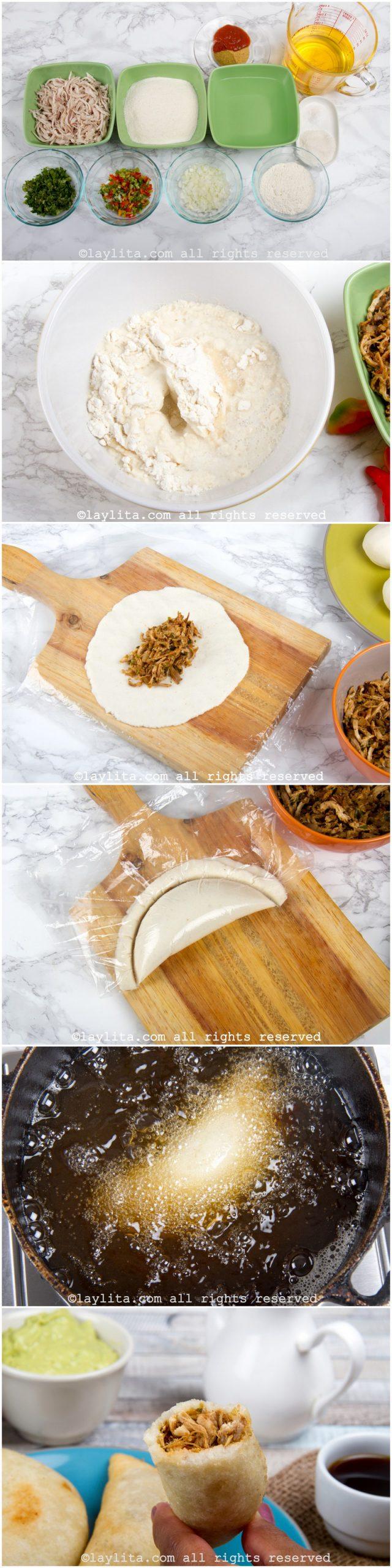 Como hacer empanadas venezolanas