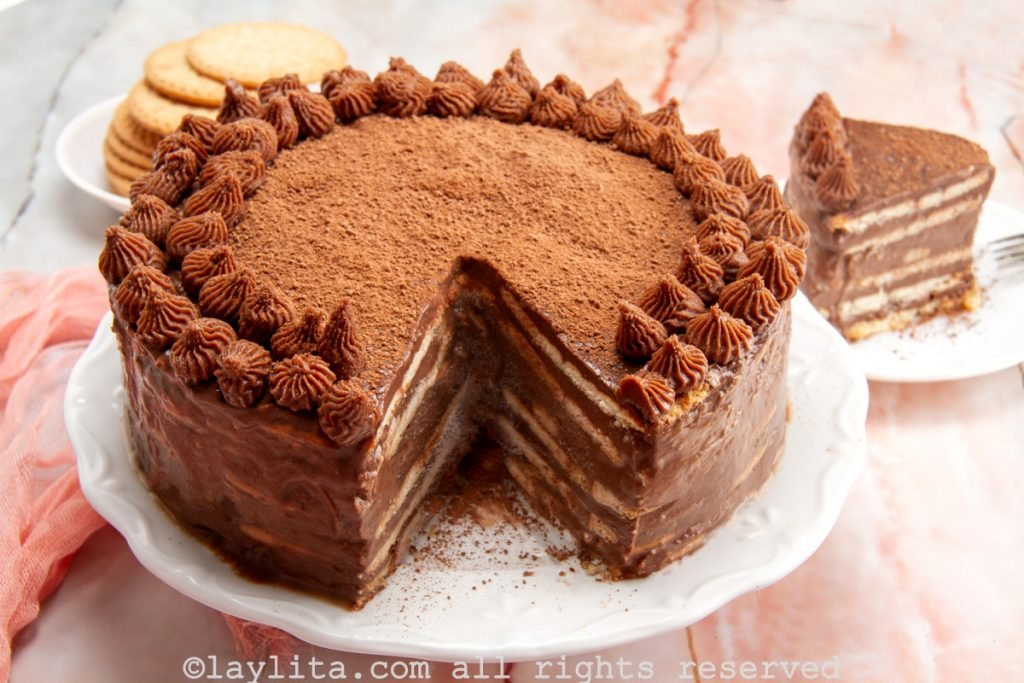 Marquesa de chocolate - receta