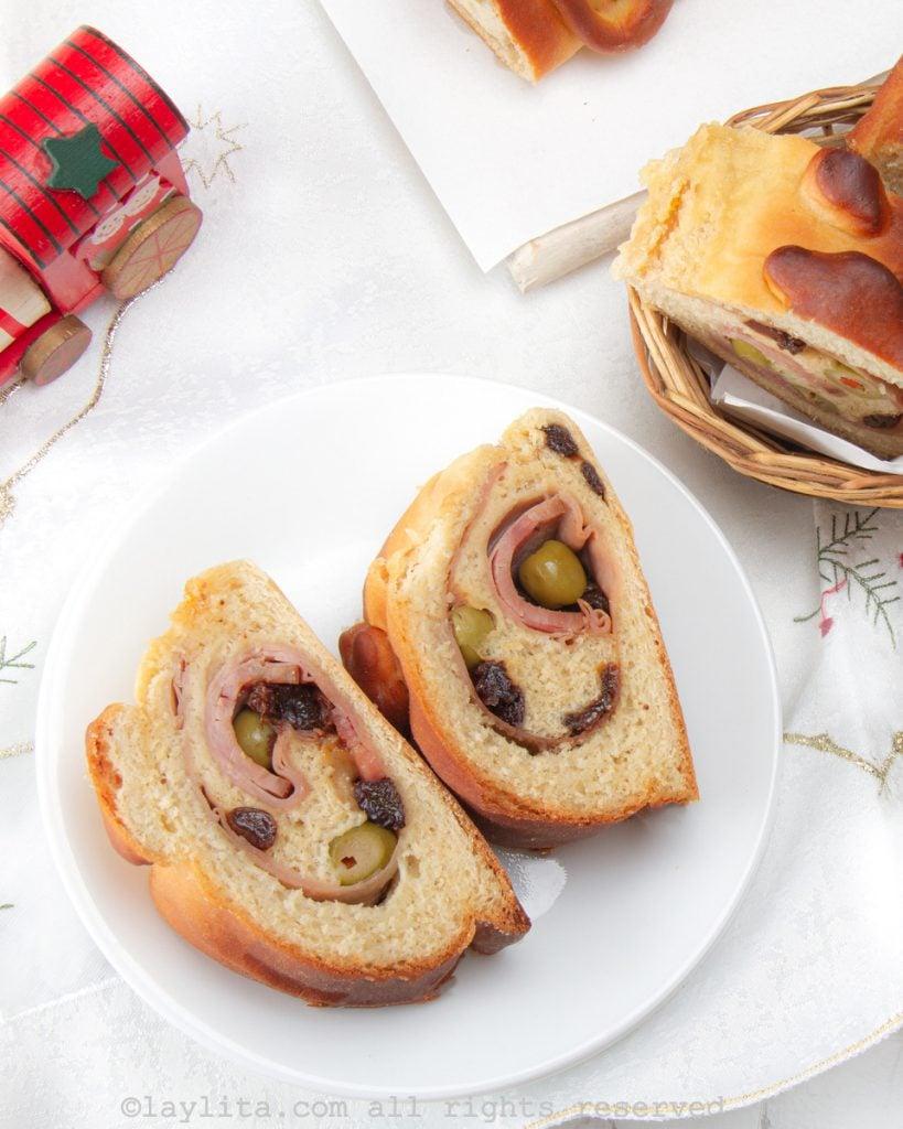 Pan de jamón - receta