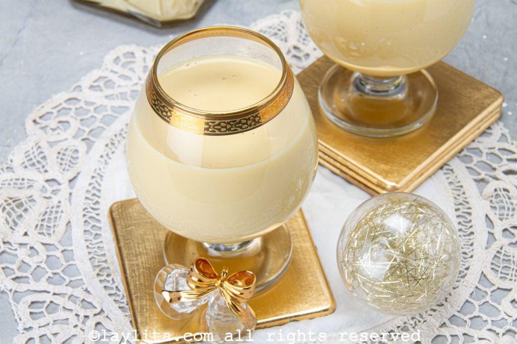 Ponche crema - receta