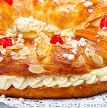 Roscón de Reyes - receta