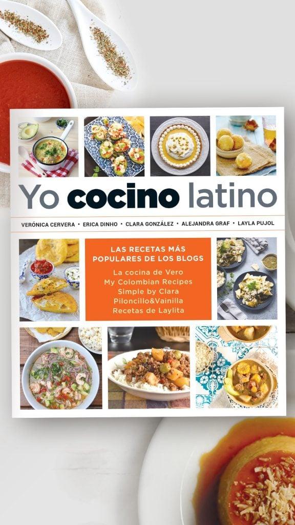 Libro de cocina latina Yo Cocino Latino