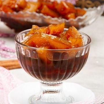 Dulce de lechosa o papaya