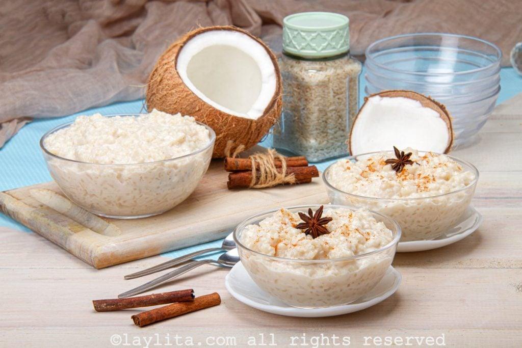 Receta del arroz con coco
