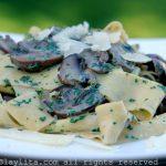 Salsa de champiñones para pasta