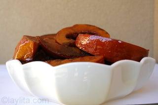 Dulce de calabaza o zapallo para preparar flan