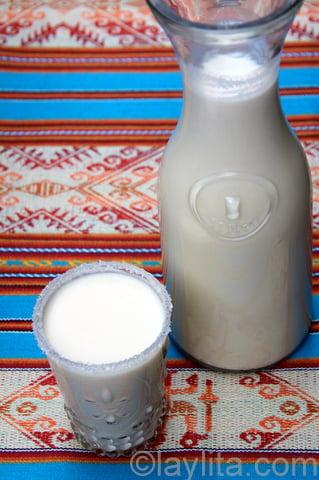 5- Rompope o ponche de leche
