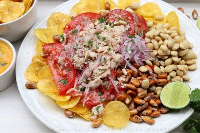 Ceviche volquetero : Ceviche de atún