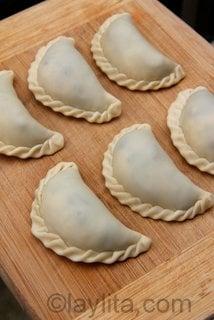 Como preparar empanads de champiñones u hongos al horno