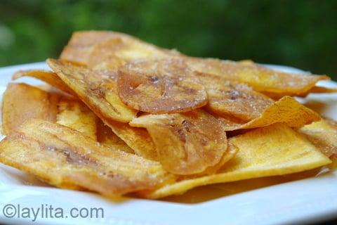 Como preparar salgadinhos de banana-da-terra