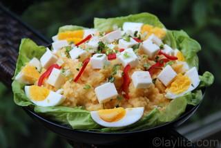 Receta y preparacion del pure de papas o patatas